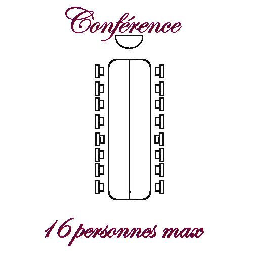 Salle Réunion disposition Conférence